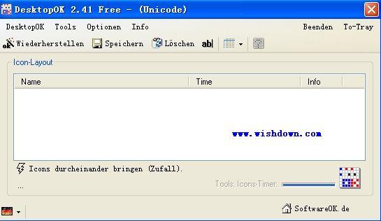 DesktopOK(桌面圖標管理工具) v5.5.1 綠色版