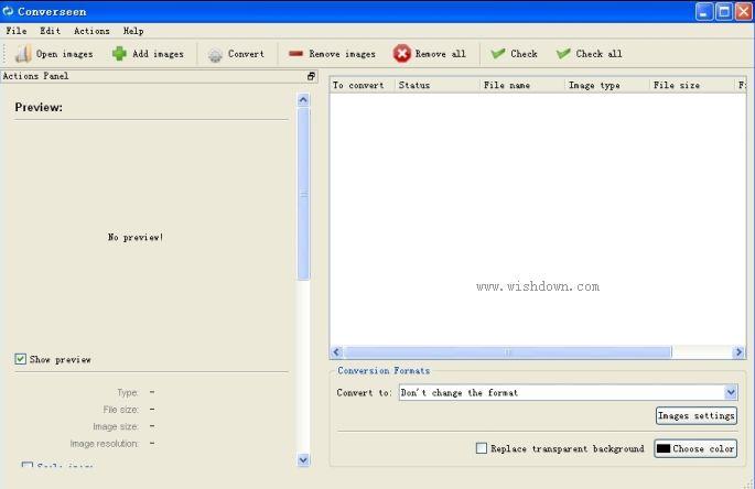 Converseen(全能批量图片格式转换) v0.9.5.1 官方免费版