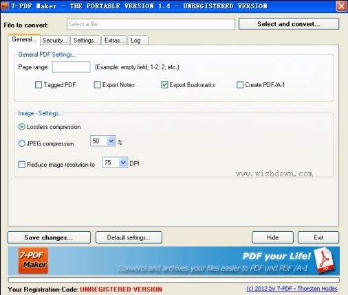 7-PDF Maker(PDF制作软件) v1.5.2 官方版