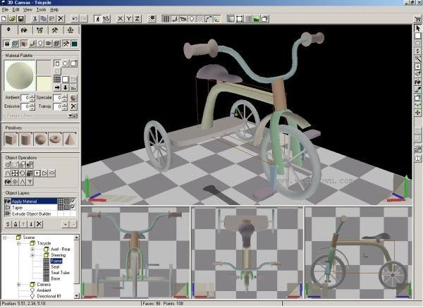 3DCrafter(3D模型与动画制作软件) 9.2.2 官方版