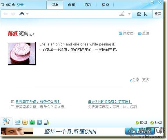 有道桌面词典增强版v6.3 官方版_wishdown.com