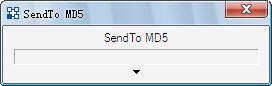 SendTo MD5(检查文件的完整性)v1.5 绿色版_wishdown.com