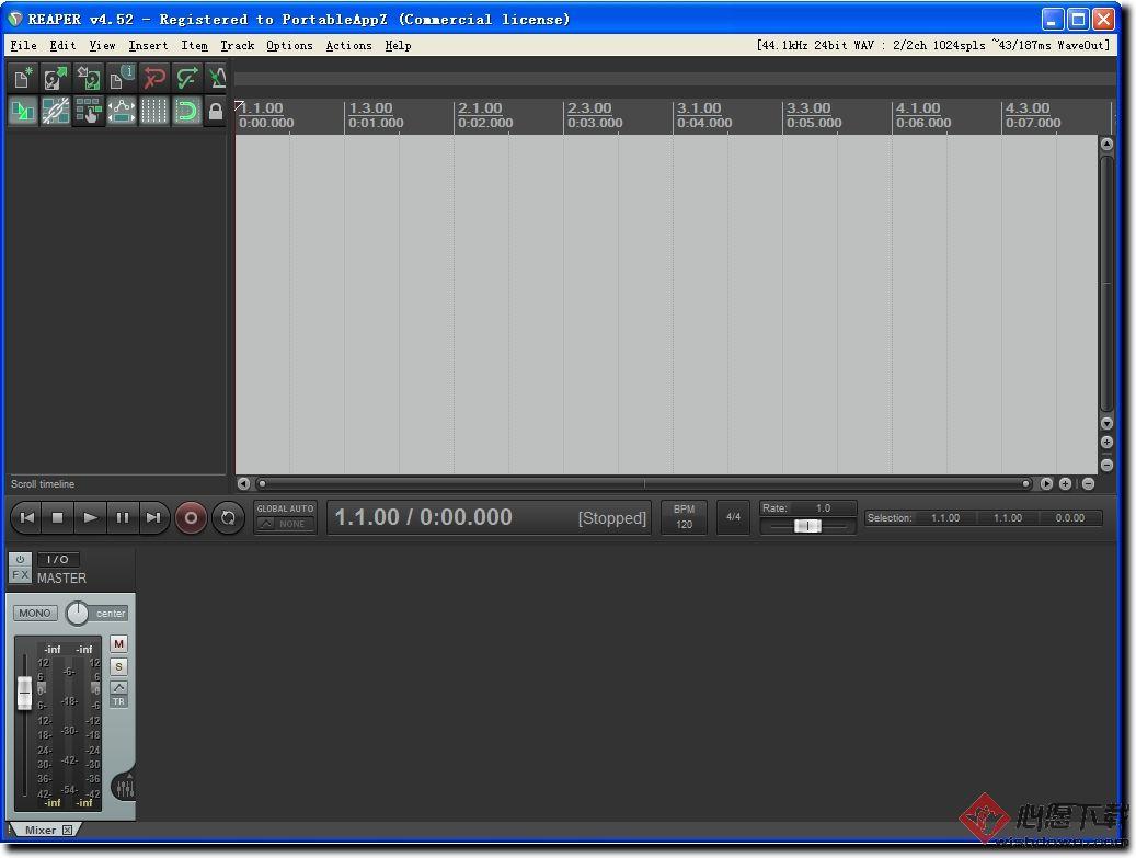 REAPER(音频录制和编辑工具) 【32/64位】v5.94 pre9官方版