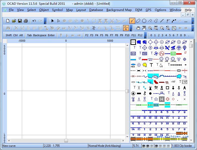 OCAD软件v11.5.6.2031 特别版_wishdown.com