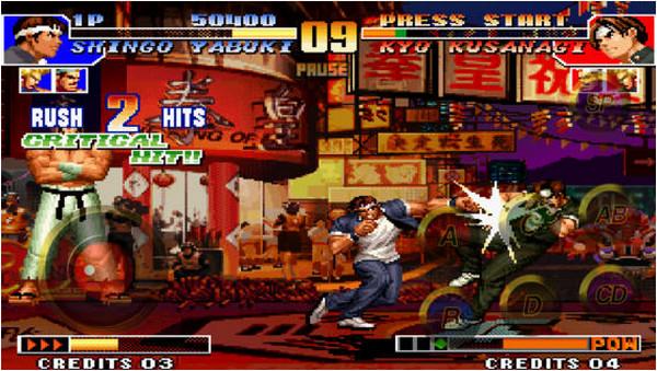 拳皇97 iPhone版V1.1 免费版_wishdown.com