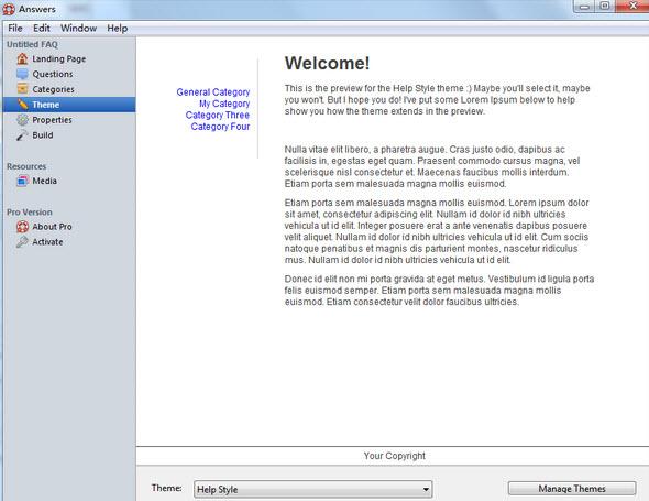 七款好用的免费帮助文件制作软件推荐(第7图) - 心愿下载