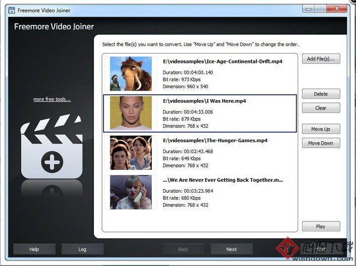 Freemore Video Joiner(多个视频合成一个) v2.5.7 免费版