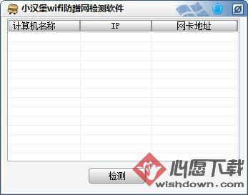 小汉堡wifi防蹭网检测软件v1.0 绿色免费版_www.rkdy.net