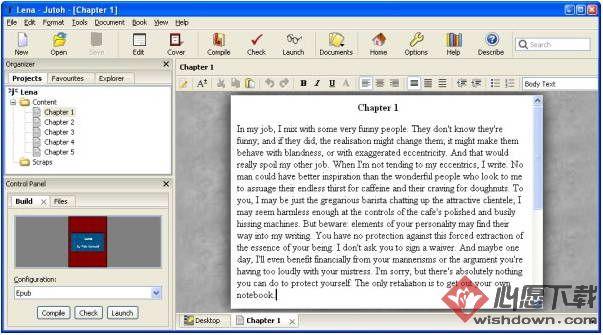 Jutoh(文本编辑器) v2.6.6 免费版