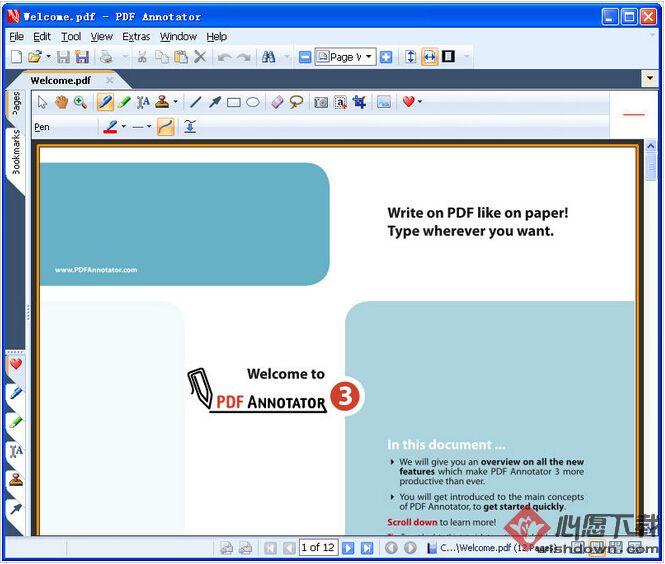 PDF Annotator(PDF编辑工具)v7.0.0.702 官方版_wishdown.com