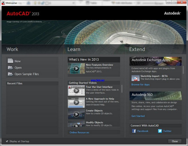 AutoCAD 2013 官方简体中文版_wishdown.com