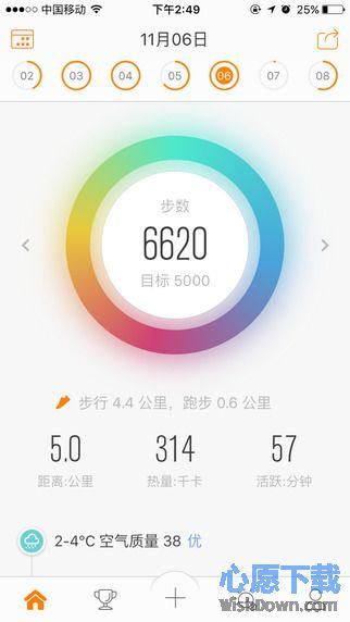 乐动力iphone版_健身跑步减肥计步器 v5.9 官方ios版