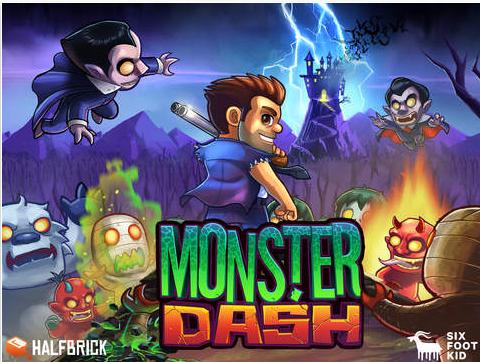 怪物狂奔iPhone版V1.60.0 官网ios版_wishdown.com