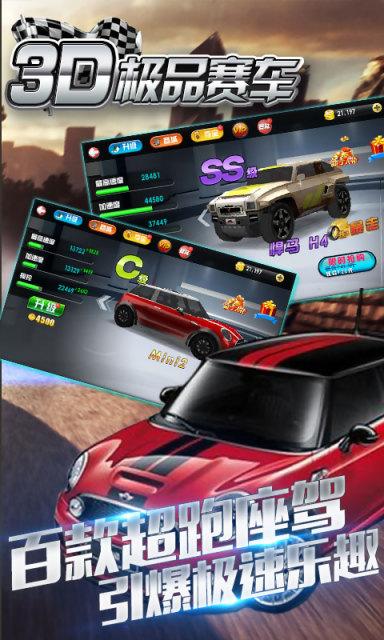 3D极品赛车竞速 v1.1