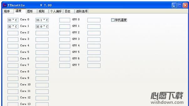 TThrottle_温度监控软件 v8.12.12.2016中文版