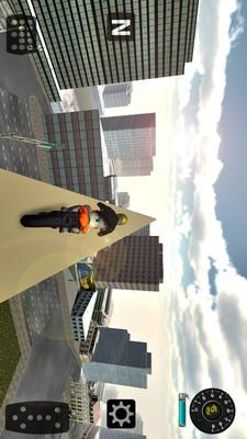 爬坡城市摩托3D v1.0
