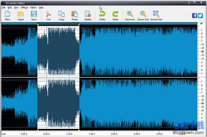 DJ Audio Editor_音频编辑软件v7.2.0.0 官方版_wishdown.com