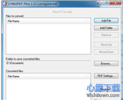 CHM2PDF Pilot_chm转pdf格式转换器 V2.2.2 官方版