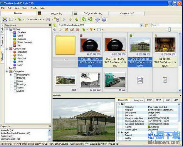 XnViewMP Mac版 v0.92 官方版