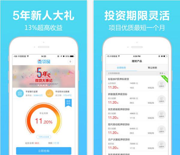 微贷网iphone版 V3.8.1