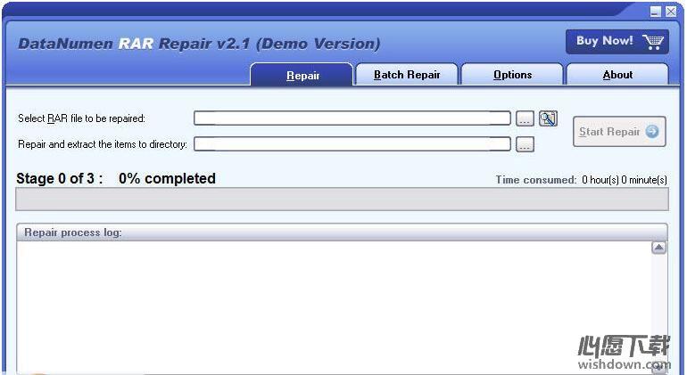 DataNumen RAR Repair_RAR文件修复软件v2.2 官方版_wishdown.com
