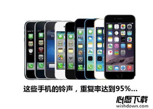 酷音铃声教你如何设置iphone6s手机铃声_wishdown.com