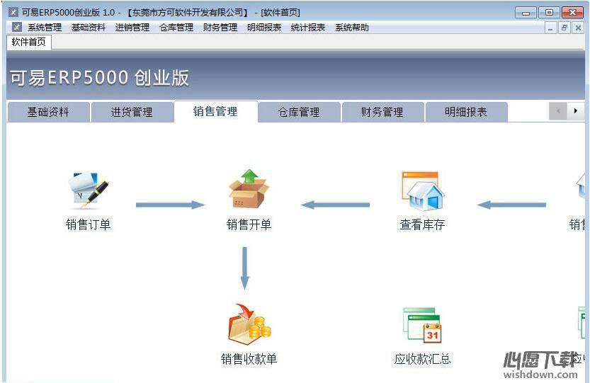 可易ERP5000创业版 v2.0 官方版