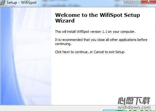 WifiSpot(wifi热点发射器) v1.0 Beta官方版