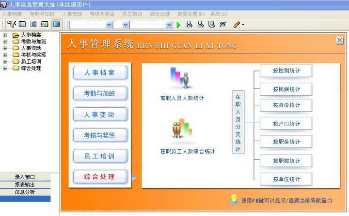 潘多拉人事信息管理系统软件 v4.0 官方免费版