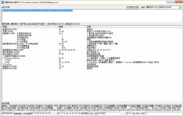 国南网报文解析 v7.2.9