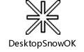 DesktopSnowOK(桌面飄雪) v3.41官方版
