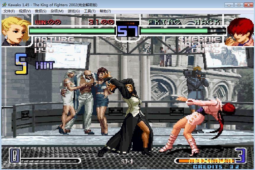 拳皇2002简体中文版_wishdown.com