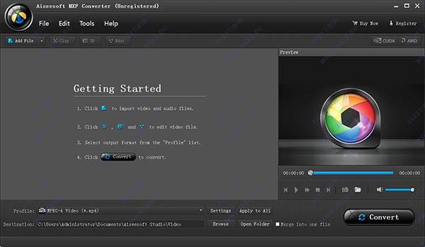 Aiseesoft MXF Converter 破解版 V9.2.16