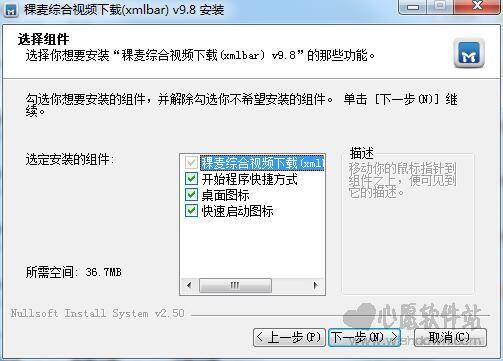 稞麦综合视频下载器(xmlbar)v9.95 官方正式版_wishdown.com