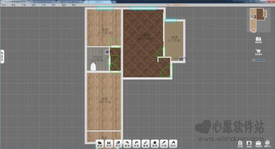家居网络互动平台(72xuan4D装修设计软件)3.0.5绿色版_wishdown.com