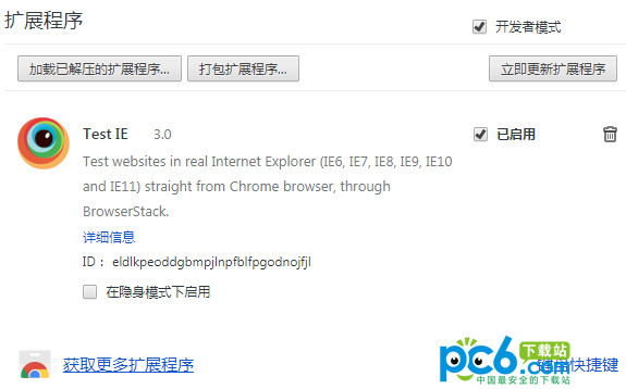 Test IE Chrome v3.0官方版