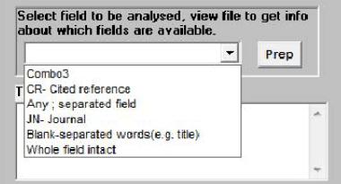 文献分析软件bibexcel
