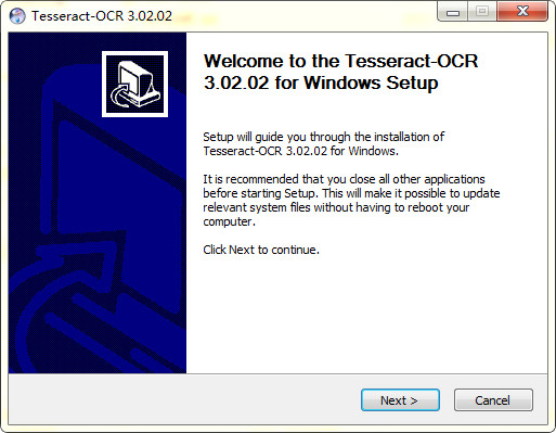 tesseract ocr(图像识别类库) v4.0.0 官方版