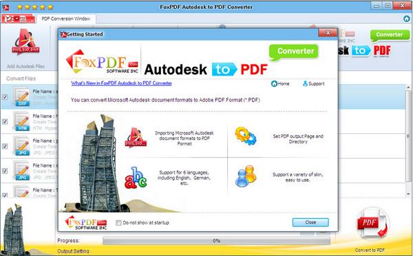 AutoDesk转换到PDF转换器 v3.0官方版