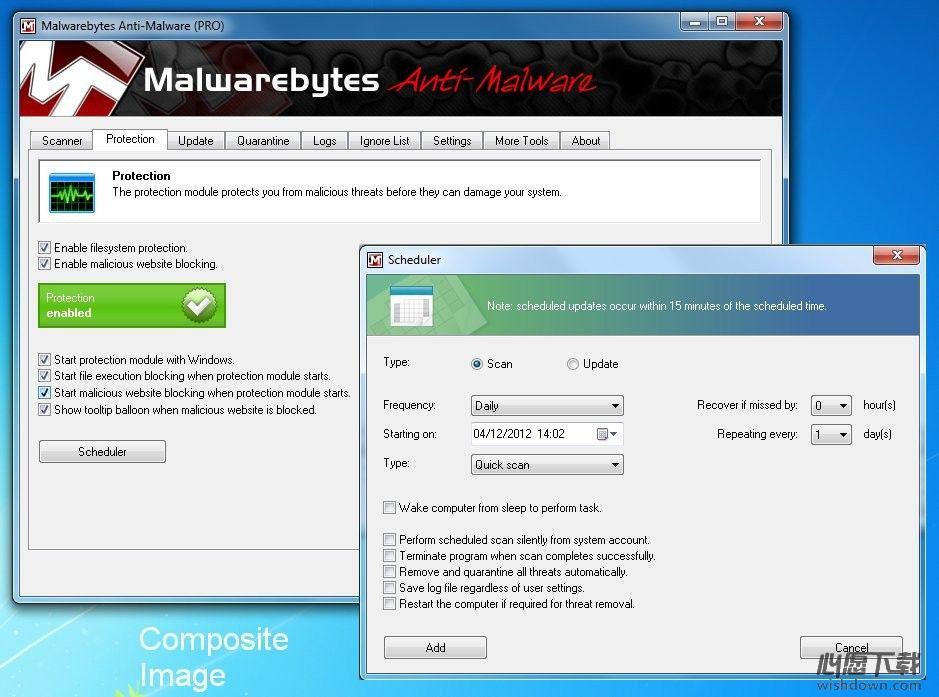 Malwarebytes Anti-Malware_删除恶意软件 v3.6.1.2711 官方版