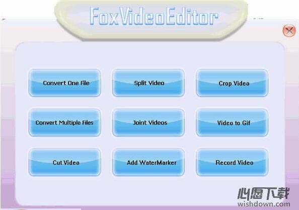 Fox视频编辑器 v1.2 免费版