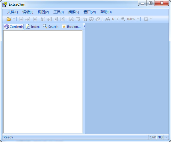 ExtraChm_chm电子书阅读器 V1.5.1中文汉化版