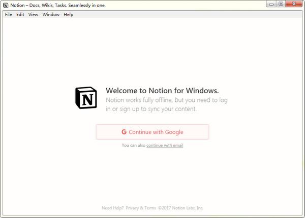 Notion云笔记软件 v0.1.9官方版