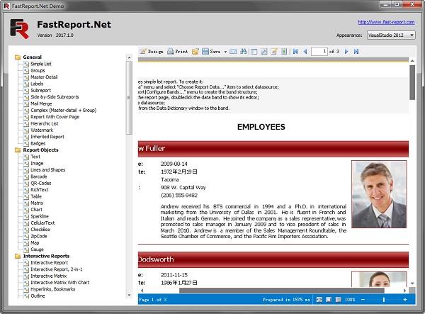 fastreport.net v2017.1.0官方版