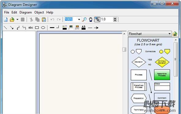 Diagram Designer(流程图绘制软件) V1.29.1 官方版