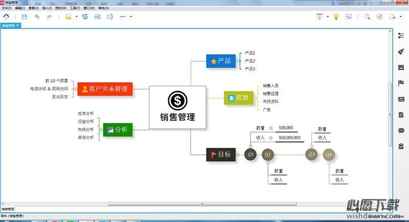 XMind 8_思维导图软件 R3.7.3.201708241944 官方中文版