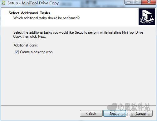 MiniTool Drive Copy(硬盘对拷工具)V5.0 免费版_wishdown.com