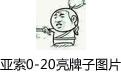 亚索0-20亮牌子图片 无水印版