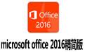 microsoft office 2016精简版 三合一 32位&64位