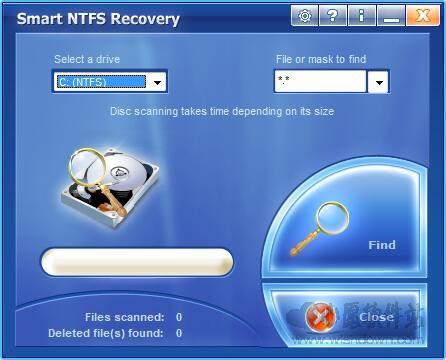 Smart NTFS Recovery(系统数据恢复工具)V4.0绿色版_wishdown.com